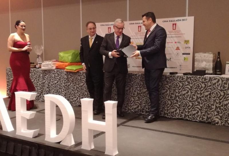 Pablo Vila, director del Hotel Madrid Marriott Auditorium, fue reconocido con la Estrella de Oro