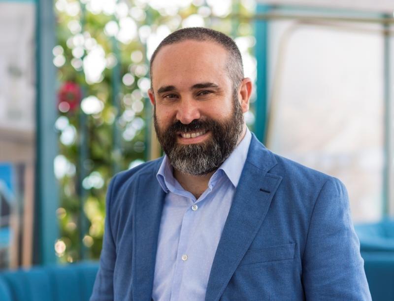 Sergio Zertuche, Chief Sales and Marketing Officer de Palladium Hotel Group.