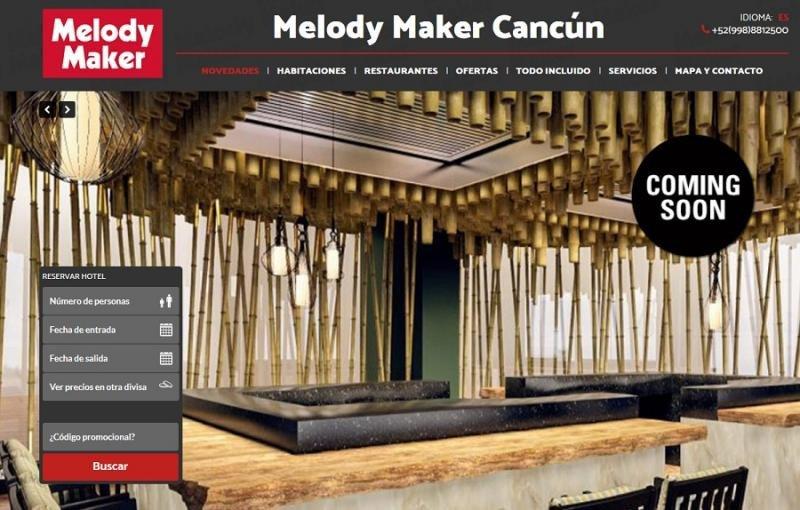 Melody Maker, la marca con la que Be Live acerca Las Vegas a Cancún