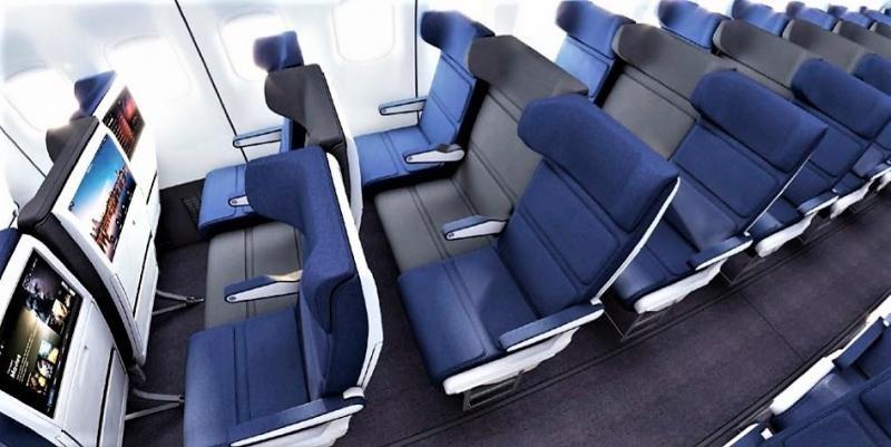 El asiento del medio más ancho y alas extendidas de reposacabezas, diseño de Molon Labe (Foto: Molon Labe).