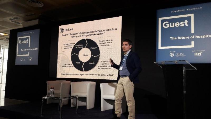 David Hernández, CEO de Pangea, explicó las fortalezas de su negocio, con el que busca 'devolver la esencia del agente de viajes'.