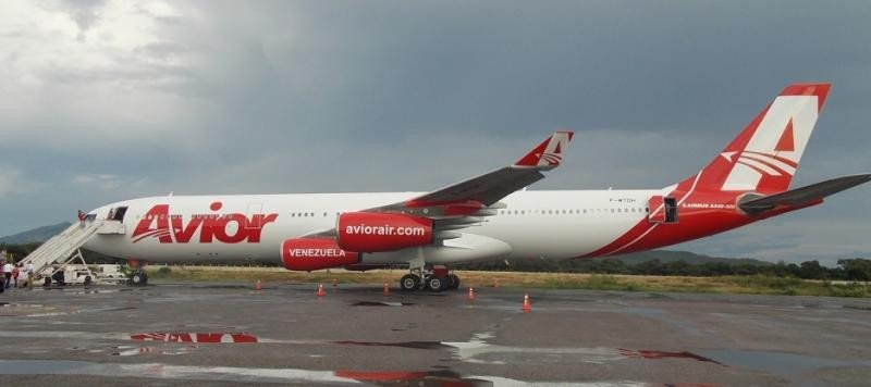 Meten en la lista negra a una aerolínea venezolana