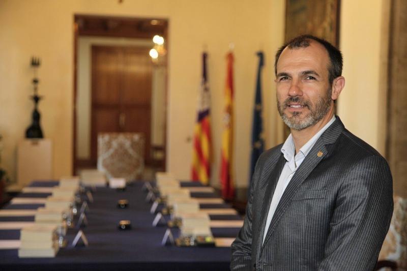 El vicepresidente y titular del departamento de Turismo, Biel Barceló.