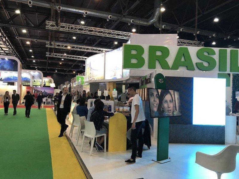 Brasil hizo un gran despliegue de su oferta turística en la FIT 2017.