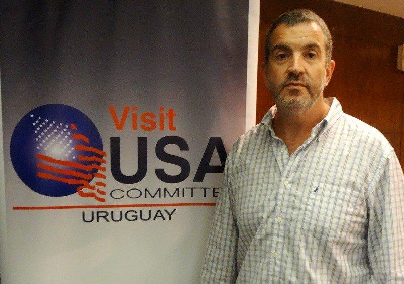 Gonzalo Rodríguez en el workshop 2017 del Visit USA Committee Uruguay. Foto: J. Lyonnet.