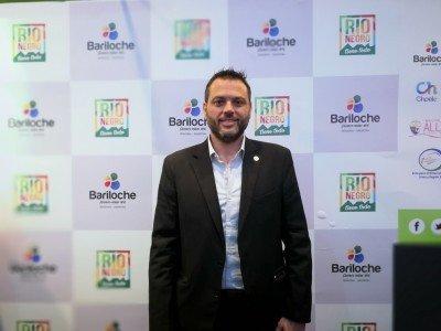 Gastón Burlón, Secretario de Turismo de Bariloche.