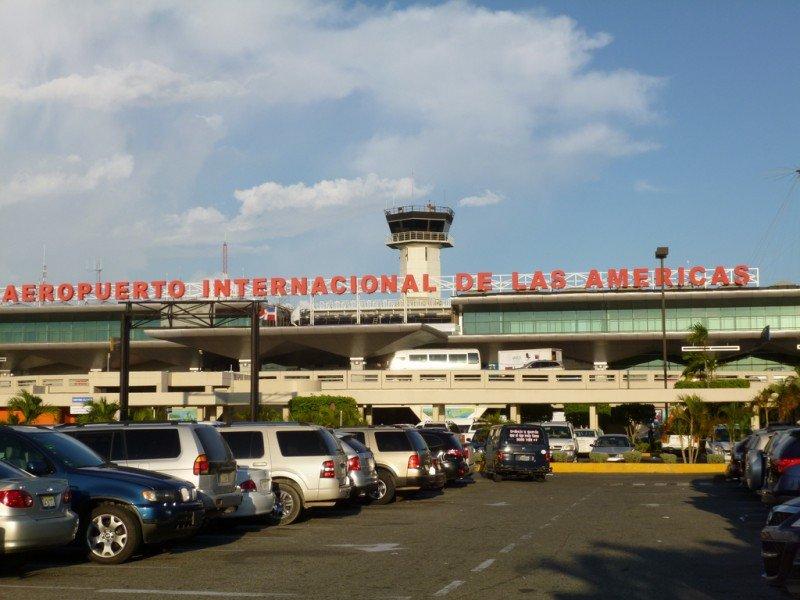 Aeropuerto Las Américas en Santo Domingo.
