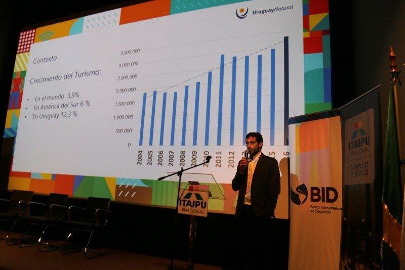 Cristian Pos, coordinador del programa de Apoyo al Sector Turístico del Ministerio de Turismo de Uruguay y el BID,