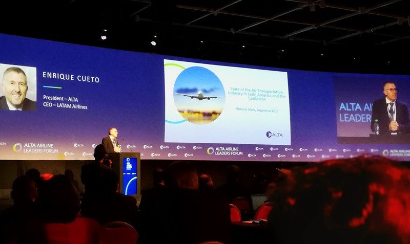Enrique Cueto, presidente de ALTA y CEO de LATAM Airlines.