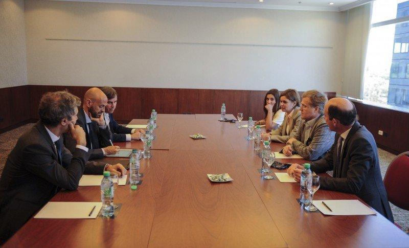 El Ministro Guillermo Dietrich se reunió con Holger Paulmann y Luis Felipe Ross.