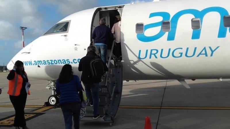 Amaszonas recupera conexión Montevideo-Ezeiza y vuelos domésticos en Uruguay