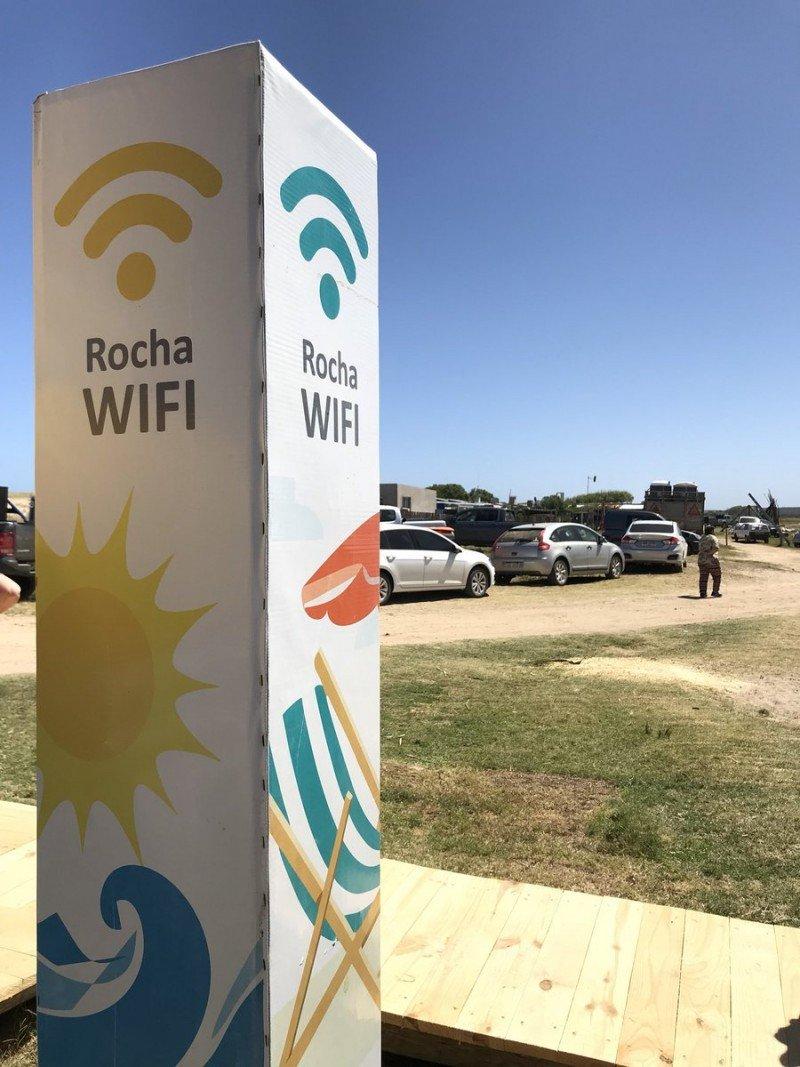 La conexión a wifi se amplía a nuevos puntos en la costa.