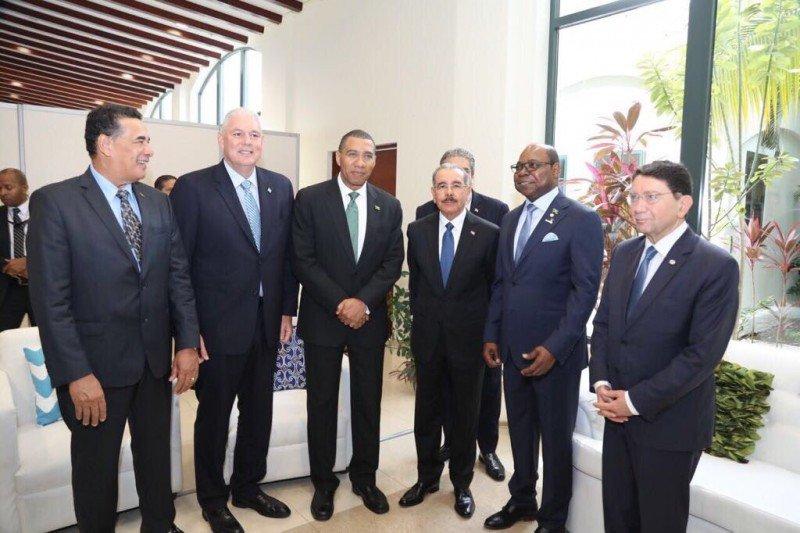 Autoridades de turismo reunidas en Montego Bay, Jamaica.