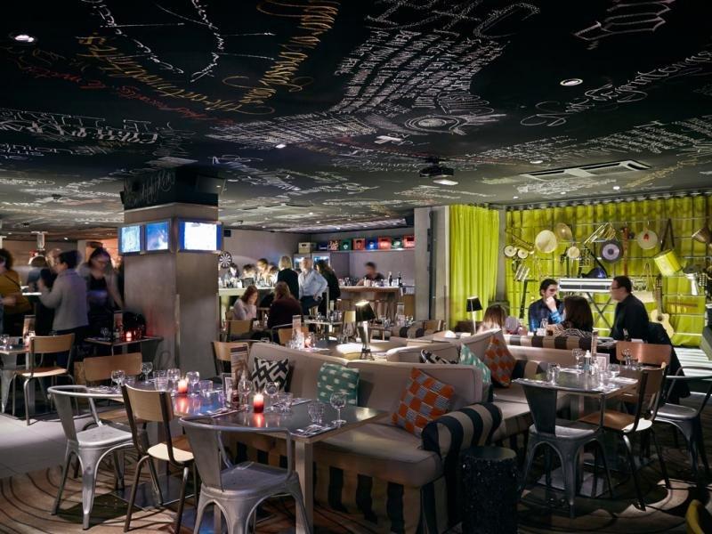 El hotel Mama Shelter París ha sido diseñado por Philippe Starck.