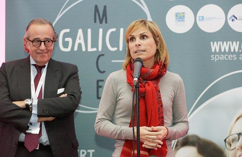 La directora de la Axencia Turismo de Galicia, Nava Castro