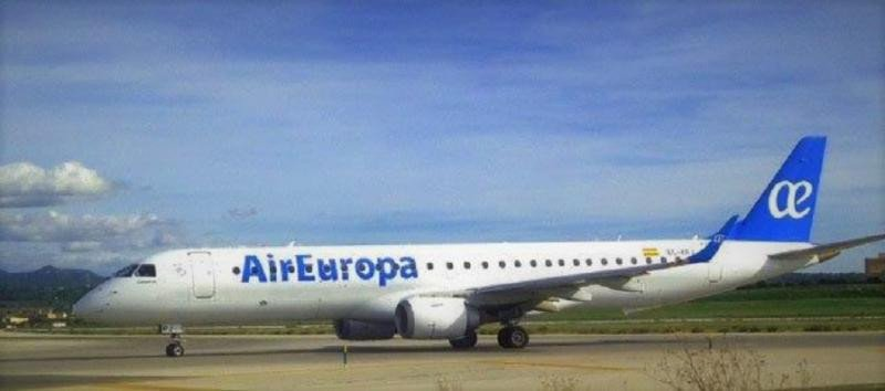 Embraer 190 de Air Europa.