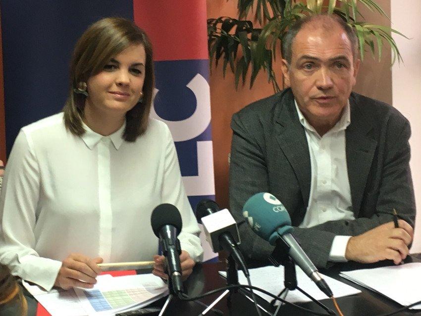 La concejala de Turismo, Sandra Gómez, y el director de la Fundación Turismo de Valencia, Antonio Bernabé.