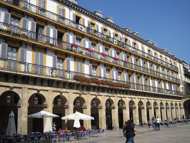En San Sebastián hay 1.200 viviendas registradas. Foto: Wikimedia Commons. Autor: Roberto Chamoso.