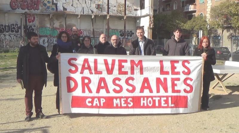 Imputada la concejal de Urbanismo de Barcelona por el hotel de Drassanes
