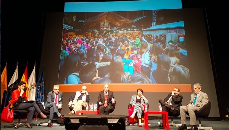 Debate organizado en el Foro Internacional de Turismo de Maspalomas.