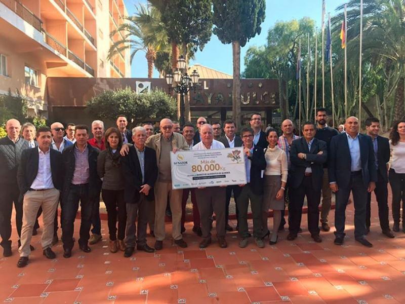 Senator dona 80 toneladas para el Banco de Alimentos de Almería