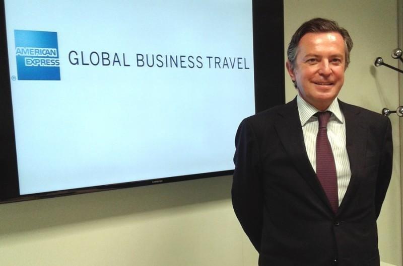 El director general de American Express GBT España, Luis Dupuy de Lome.