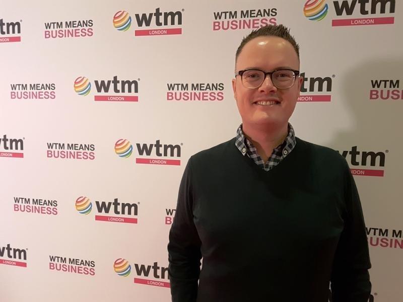 Peter Jordan, en la feria World Travel Market que tuvo lugar el pasado noviembre en Londres, donde se realizó esta entrevista.