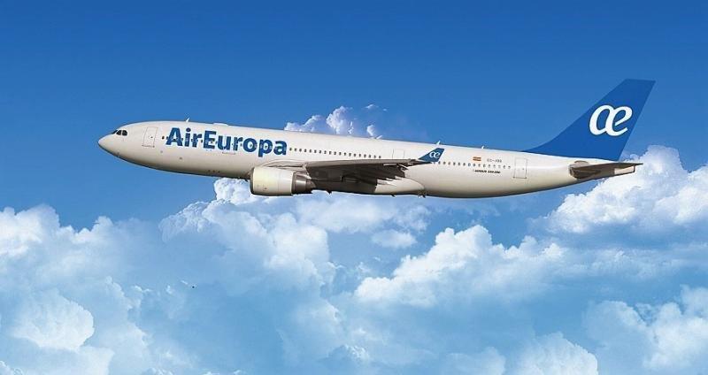 Air Europa aumenta los vuelos entre Madrid y Montevideo