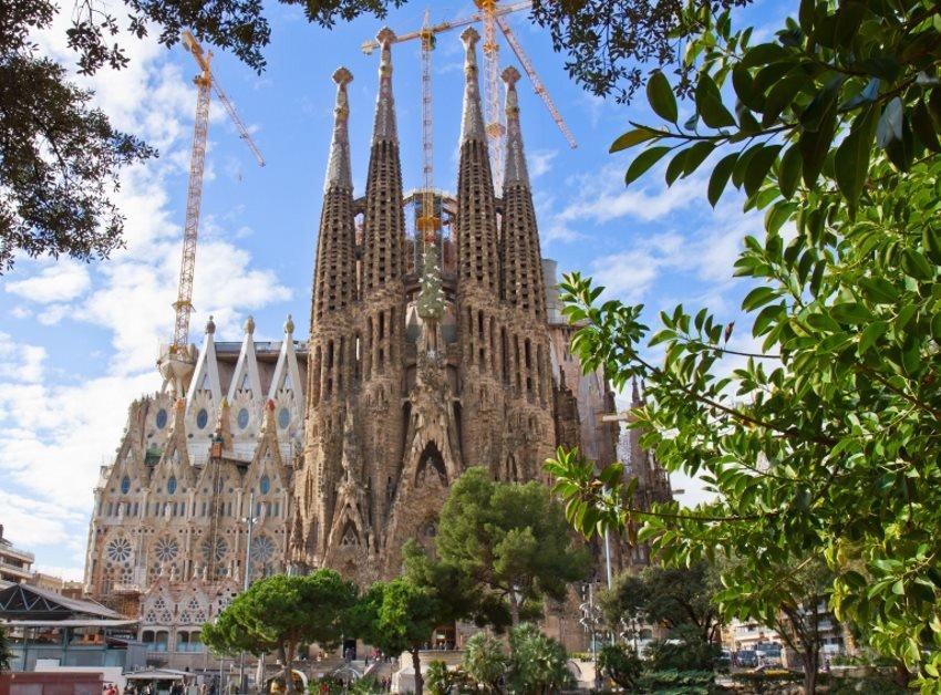 La Sagrada Familia ha sido la atracción más reseñada este año.