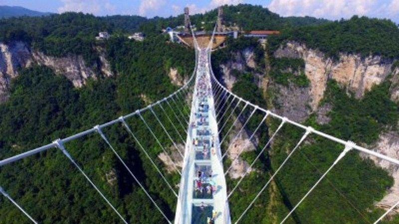 El nuevo puente tiene una longitud de 488 metros.