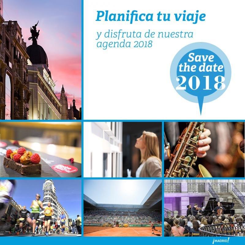 Madrid propone una amplia agenda para 2018 a residentes y visitantes.