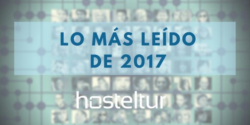 Lo más leído de Hosteltur en 2017