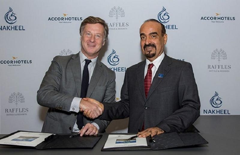 La marca de lujo Raffles se estrenará en Dubái en 2021