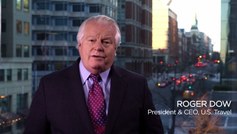 Roger Dow, presidente de US Travel Association, envió un fuerte mensaje al gobierno de EEUU.
