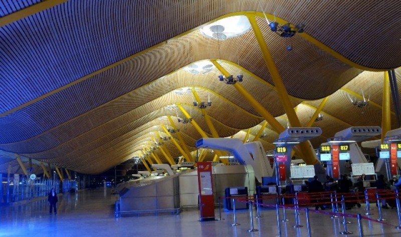 Aeropuerto de Barajas, Madrid.