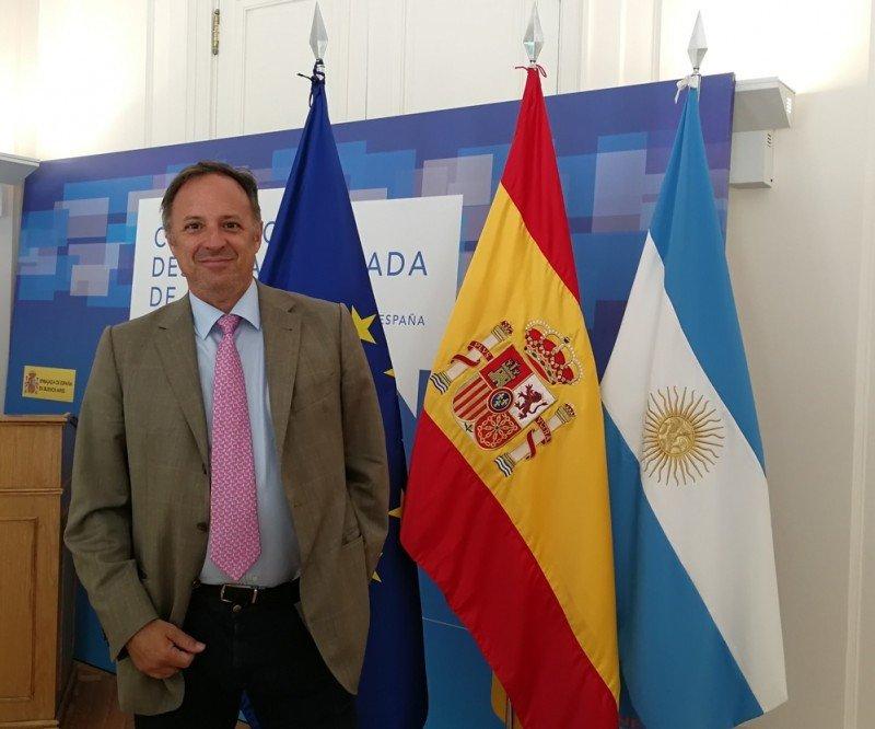 Javier Arroyo Navarro, Consejero de Turismo en la Embajada de España en Argentina.