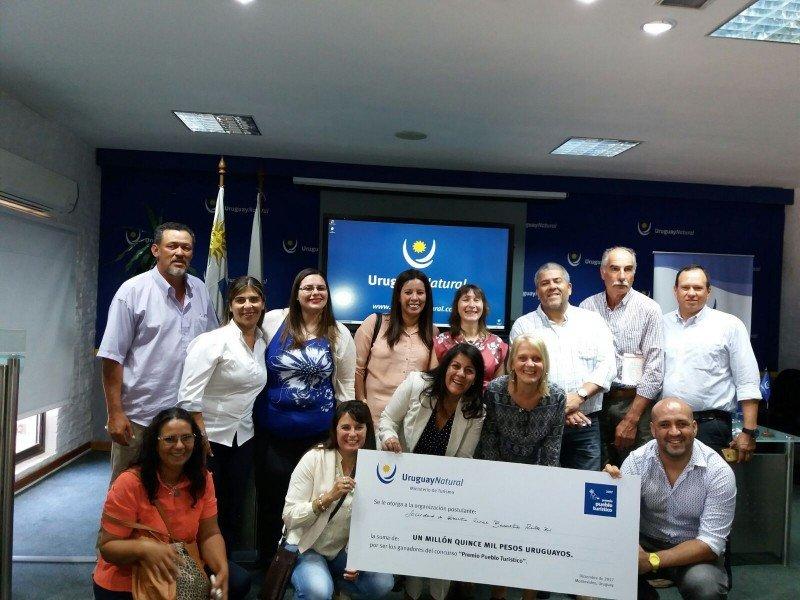 Responsables del proyecto salteño recibieron el premio.