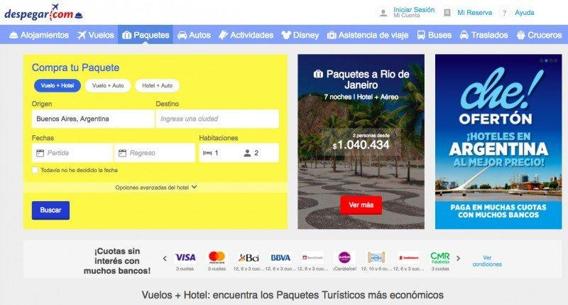 Despegar.com deberá pagar por violar la ley del consumidor en Chile
