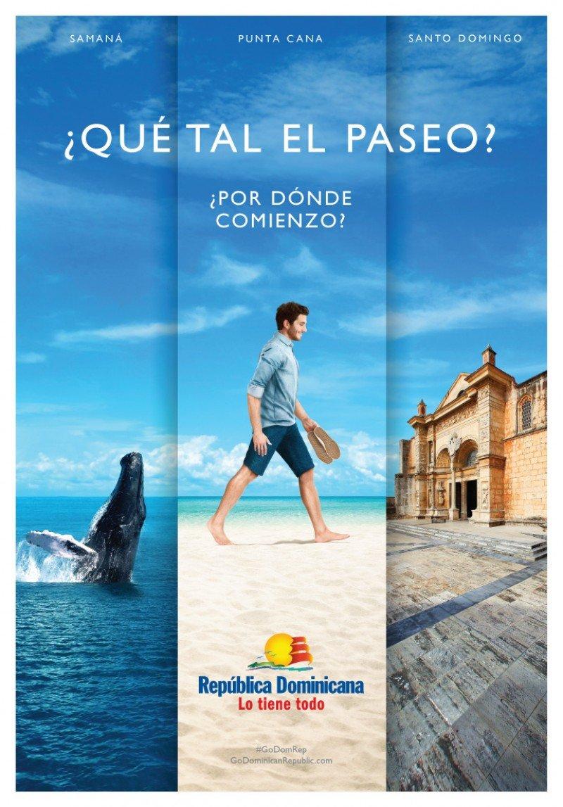 """""""Caminata"""", la nueva campaña de Dominicana para mostrar sus atractivos"""