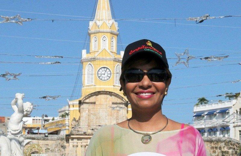 Zully Salazar, presidenta ejecutiva de la Corporación de Turismo de Cartagena (Corpoturismo