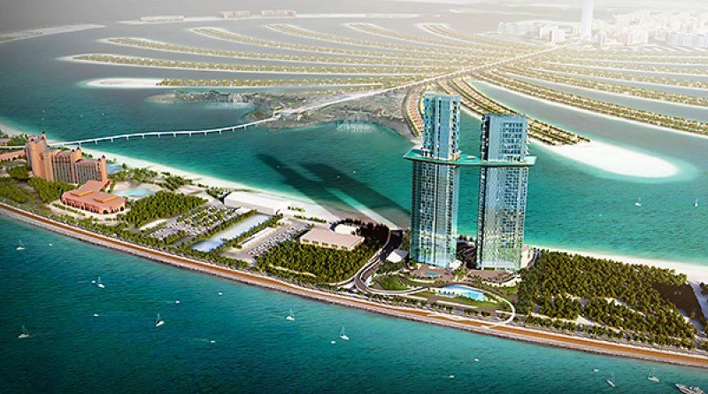 La marca de lujo Raffles estrenará en Palm Jumeirah en 2021
