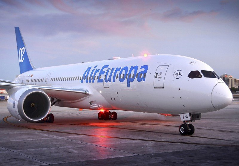 Air Europa proyecta transportar 90.000 pasajeros anuales con su ruta Madrid-Quito