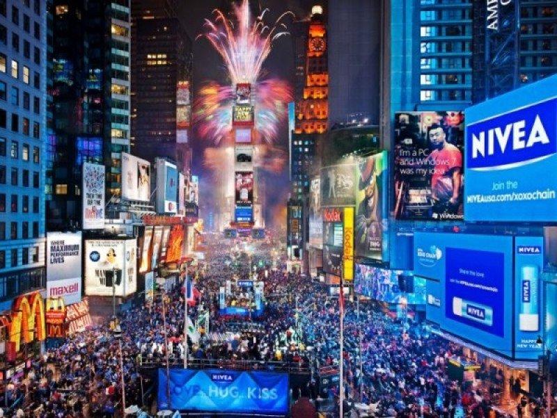 Esperan 2 millones de personas en Times Square.