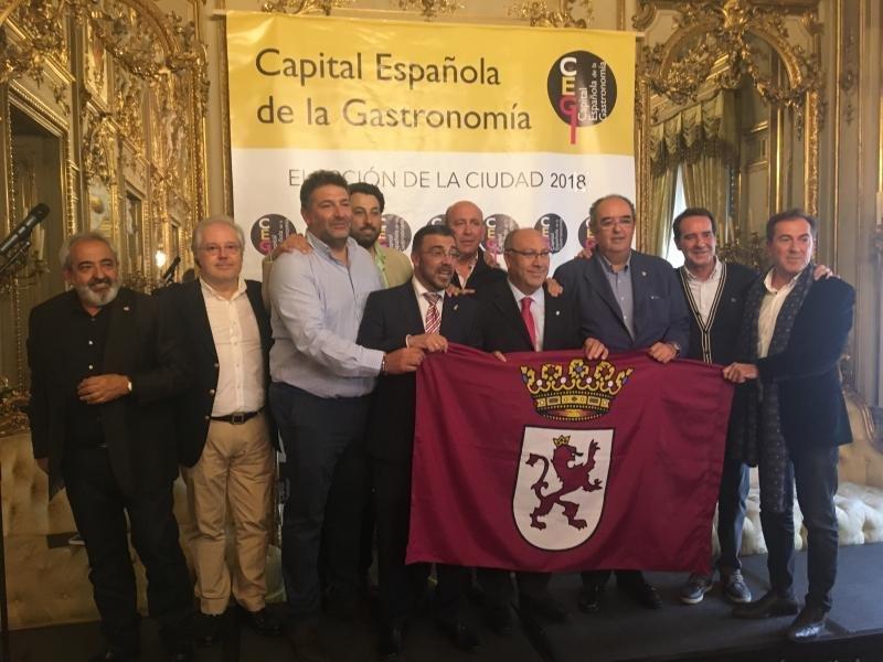 León releva a Huelva como Capital Española de la Gastronomía