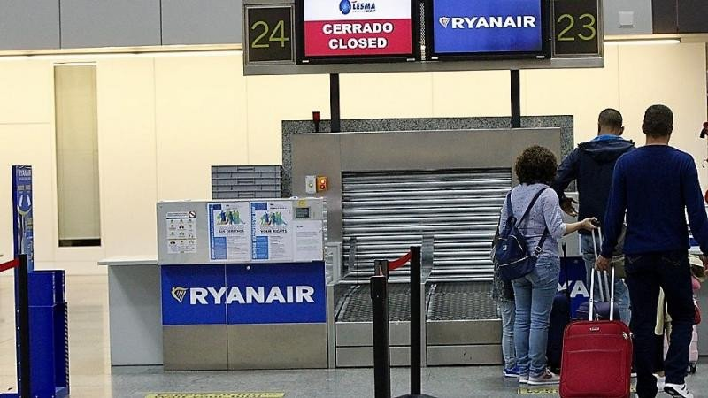 Reclaman a Ryanair más de 100.000 euros por 375 cancelaciones