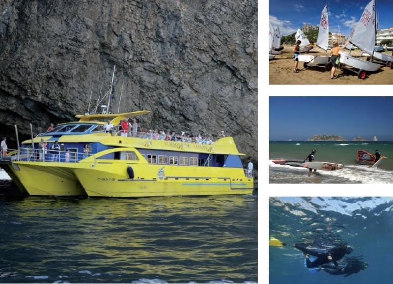 Algunas de las actividades turísticas que se pueden realizar en el municipio.