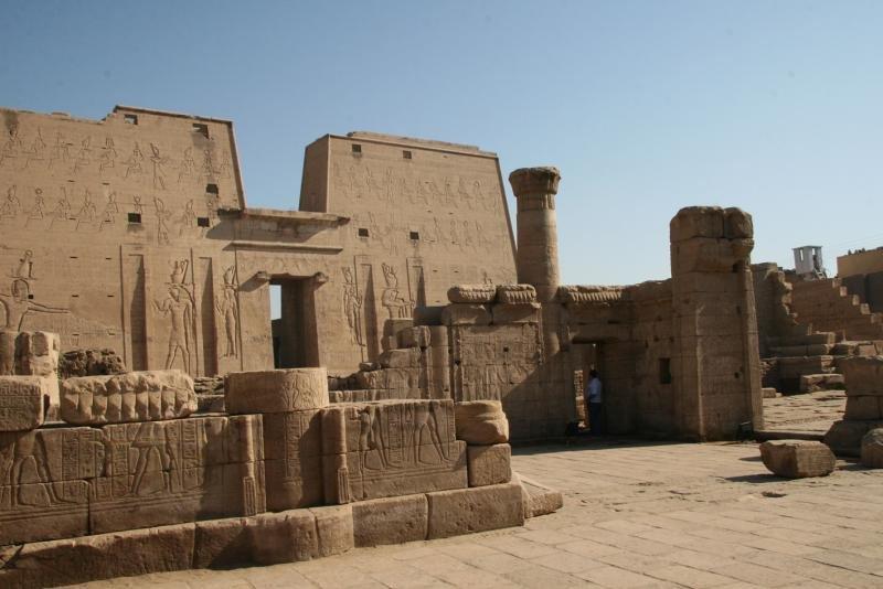 Ruinas de Luxor, Egipto.