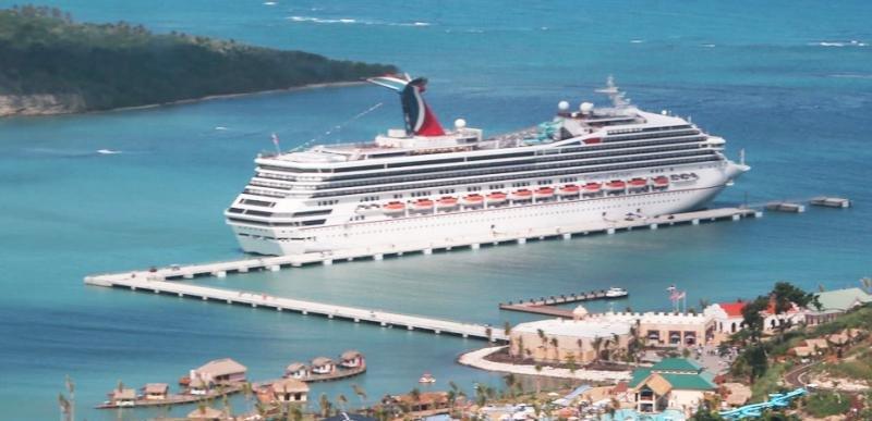 República Dominicana cierra 2017 con un 37% más de cruceristas