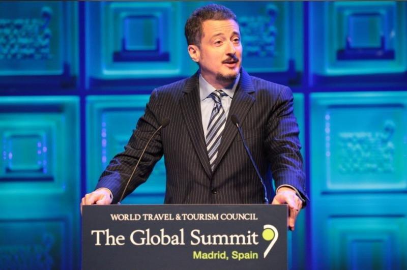 Jeff Rutledge, vice chairman de la asociación World Travel y CEO de AIG Travel.