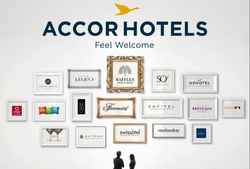 Imagen de todas las marcas que integran AccorHotels.